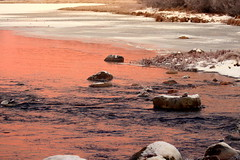 The purple morning. (irio.jyske) Tags: colors purple white river creek whitewater stones low ice ferost frozen water morning winter landscapes landscapephotographer landscapephotos landscapepic lanscape landscapephotograph landscape lakescape landscapepics photographer photograph photos pic beauty beautiful nice naturepic naturescape naturephotograph naturepictures naturephotos naturephoto naturephotographer nature natural naturepics