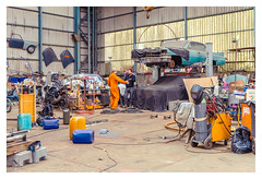 Garage... (LukeDaDuke) Tags: workshop adm admamsterdam amsterdam iamsterdam garage car cars classic oldtimer