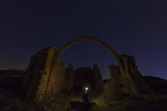 Aras (explore) (Rafael Díez) Tags: españa navarra aras ermita paisaje nocturna cielo estrellas ruinas rafaeldíez luces sanjuandearas