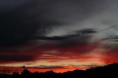Sunset 1 16 19 #29 (Az Skies Photography) Tags: sun sky skyline skyscape rio rico arizona az riorico rioricoaz arizonasky arizonaskyline arizonaskyscape cloud clouds red orange gold salmon black january 16 2019 january162019 11619 1162019 canon eos 80d canoneos80d eos80d canon80d set sunset dusk twilight nightfall arizonasunset