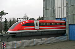 TR09 (Schwanzus_Longus) Tags: 09 accident center centre critics dark disaster electric end field future german germany loco locomotive maglev magnetic memorial modern red regio test tombstone tr track train trains transportation tve emsland lathen transrapid testcenter tr09
