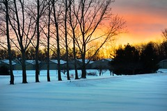 Sunsets (kirsten.eide) Tags: airport wisconsin winter colors sunsets