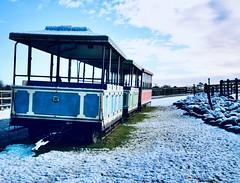 Off the Rails (paulmcmorrow) Tags: snow zoo cork wildlife fotaisland