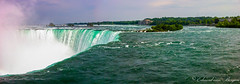 Horseshoe falls - Niagara, Canada (Eduard van Bergen) Tags: niagara canada falls waterfall toronto ontario power generating station water tourists apple iphone 4 dufferin islands county nature architecture queen victoria area resort palace sisters three goat island bedrock
