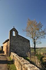 chapelle St Victor (jean-marc losey) Tags: france occitanie tarn puycelsi chapelle arbre randonnée automne autumn tree d700