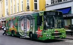 Bus Eireann DA9 (93C2509). (Fred Dean Jnr) Tags: buseireannroute203 cork buseireann daf sb220 alexander setanta da9 93c2509 stpatricksstreetcork september1999 alloverad