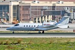 SP-CEZ Learjet 60 AMC Aviation AGP 09-02-19 (PlanecrazyUK) Tags: lemg malaga–costadelsolairport malaga costadelsol spcez learjet60 amcaviation agp 090219