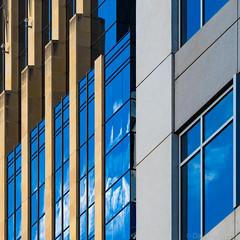 Minneapolis Geometry (David M Strom) Tags: olympusem1markii skyscraper minneapolis reflections architecture minimal abstract davidstrom olympus40150