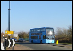 NX Coventry bus 4765 on the 16 Hospital service Coventry. (nexapt101) Tags: 4765 coventry bus
