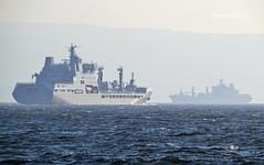 RFA Tiderace & RFA Tideforce (Zak355) Tags: rothesay isleofbute bute scotland scottish naval royalnavy rfatideforce rfatiderace a139 a137 riverclyde shipping ship boat vessel fueltanker