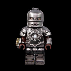 Real Custom HOBBYBRICK (zerobaek0100) Tags: lego custom minifigure hobbybrick taiwan exhibition 2019 ironman mark1 mk1 special limited edition vip comingsoon collection realcustom real design handmade handcraft