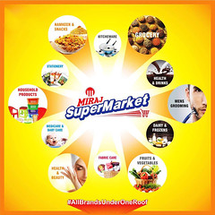 Miraj Group - Most Reliable Retail Chain in India (Miraj Group) Tags: mirajretail retailchaininindia retailstores supermarketsinindia hypermarketsinindia retailoutlets skincareproducts personalcareproducts grocerystoresinindia