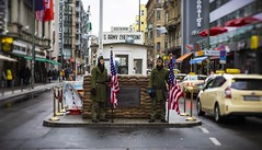 Checkpoint 2019 (Thomas Grotmol) Tags: petzval lomo coldwar us europe berlinale2019 germany checkpointcharlie berlinale 2019 berlin