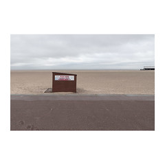 For Hire (John Pettigrew) Tags: lines tamron d750 nikon pier dull empty documentary beach imanoot angles topographics spaces shed ordinary deserted bland hut johnpettigrew documenting seaside
