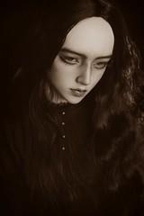 dark portrait (dolls of milena) Tags: bjd abjd resin doll emma elfdoll dark portrait