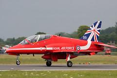 XX323_02 (GH@BHD) Tags: xx323 hawker hawkersiddeley hs hawk hawkt1 raf royalairforce redarrows riat riat2014 royalinternationalairtattoo aviation aircraft military fighter trainer raffairford fairford