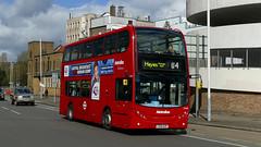 Blind Mix-Up (londonbusexplorer) Tags: metroline west dennis trident adl enviro 400 te948 lk58khp u4 uxbridge hayes prologis park tfl london buses