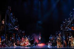 Coro dei gitani (ralcains) Tags: spain españa sevilla seville siviglia opera oper stage espectacles escenario palcoscenico andalousia andalucia andalusia canon eos eosr 50mm verdi trovatore espectáculos