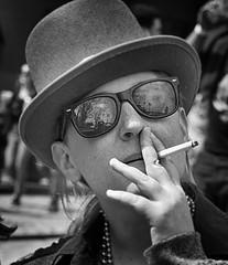 MG_2 (RogelSM) Tags: savannah stpatrickday portrait outdoor streetportrait streetphotography bw