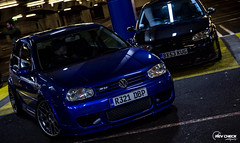 IMG_4723 (RevCheck Photography) Tags: car vehicle transport vw volkswagen r32 golf underground park light lighting shadow colour highlights reflection shine