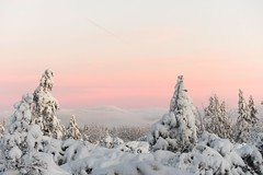 As the day dawns new mountains rise (all martn) Tags: winter osterzgebirge krusnehory erzgebirge schnee snow landscape landschaft