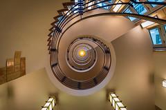 Spiraltreppe (Nic2209) Tags: nikond750 nic2209 flickr2019 flickr 2019 allemange alemania europa deutschland germany treppen stairporn stairs escaliers scala scalaachiocciola spiralstaircase escalierencolimaçon staircase architektur architecture licht farben light colors fenster window