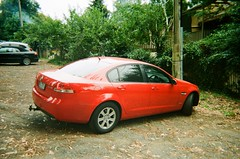 2010 Holden Commodore Omega (photo 2) (Matthew Paul Argall) Tags: kodakflashsingleusecamera fixedfocus 35mmfilm 800isofilm kodak800 disposablecamera singleusecamera car vehicle automobile transportation sedan familysedan holden holdencommodore generalmotors
