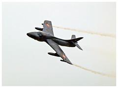 Hawker Hunter T.68 - J-4201 - HB-RVR (Aerofossile2012) Tags: hawker hunter t68 j4201 hbrvr avion aircraft aviation meeting airshow laferté 2017