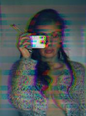Old school... (Lorre_1) Tags: oldschool selfportrait artofselfportraiture indoor sweden canon 50mm woman