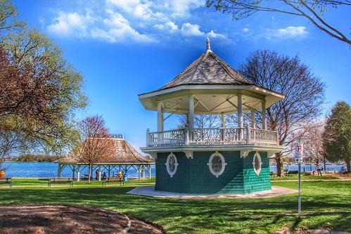 Orillia Ontario - Canada - Couchiching Beach Park - HIstoric Park