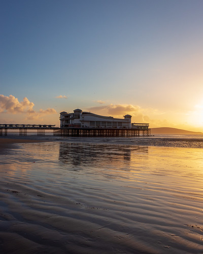 The Grand Pier at Sunset