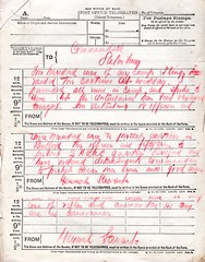 Riot at Sling Camp, March 1919 - Telegram from General Stewart (Archives New Zealand) Tags: archivesnewzealand archives archivesnz wwi ww1 worldwarone worldwari firstworldwar nzef sling slingcamp riot mutiny bulford march 1919 disturbance labour labourhistory soldiers newzealandsoldiers nzhistory newzealandhistory