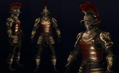 WIP (Topa Adamski) Tags: secondlife avatar medieval zbrush substancepainter fantasy armor tsc aesthetic signature spartan centurion warrior knight gladiator