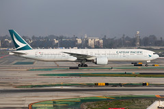 Cathay Pacific Boeing 777-367/ER B-KPR (Mark Harris photography) Tags: spotting lax la canon 5d plane aviation