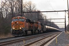 CSX K141-17 @ Yardley, PA (Dan A. Davis) Tags: csx bnsf ge gevo es44dc ac44c4m es44c4 k141 freighttrain locomotive railroad pa pennsylvania yardley