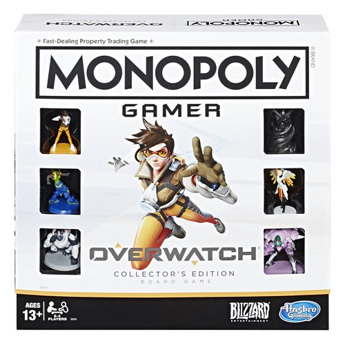 Картинки по запросу Boardgames - Monopoly Gamer - Overwatch Collector's Edition