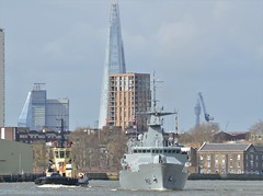 LE James Joyce P62 (2) @ Greenwich 18-03-19 (AJBC_1) Tags: lejamesjoyce p62 london patrolvessel offshorepatrolvessel military warship dlrblog ©ajc ship boat vessel opv patrolboat england unitedkingdom uk navy navalvessel eastlondon nikond3200 samuelbeckettclass irishnavalservice irishdefenceforce ajbc1 riverthames greenwich royalboroughofgreenwich greatbritain gb militaryvessel