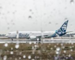 I Spy A 737-890 Out the Plane Window (AvgeekJoe) Tags: 737 737800 737890 alaskaair alaskaairlines boeing737 boeing737800 boeing737890 d5300 dslr internationalairport ksea n588as nikon nikond5300 seatac seatacinternational seatacinternationalairport seattle seattletacomainternational seattletacomainternationalairport usa washington washingtonstate aircraft airplane airport aviation jetliner plane rain raindrops throughairplanewindow throughglass throughthewindow water