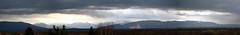 Chaîne des Alpes, Chablais & Mont Salève - 2019 (Inspicio) Tags: nikon d750 24120 montblanc alpes alps montagne mountain paysage landscape panorama ciel sky nuages clouds photomerge