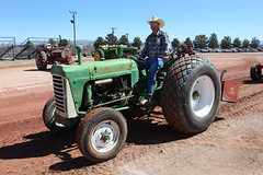 Sun-baked Oliver (twm1340) Tags: 2019 az arizona flywheelers antique tractor show cottonwood