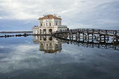Casina Vanvitelliana Bacoli (michelina cipro) Tags: architettura ciielo mare barca ponte bacoli riflessi nuvole