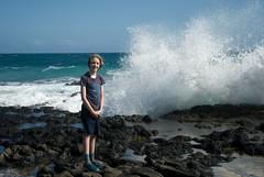 20190102-290 (cloesner) Tags: pacificocean sea water waves spray coast shore beach lava rocks surf horizon sky oahu hawaii