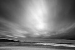 The Sky Over Lower Bavaria (Bernd Walz) Tags: landscape fields rural countryside sky clouds wind movement blackandwhite bnw monochrome fineart minimalism minimalistic lowerbavaria bavaria germany