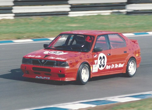 Liddle at Brands Hatch