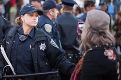 Occupy San Francisco (Thomas Hawk) Tags: california occupysanfrancisco occupysf protest sfpd sanfrancisco sanfranciscopolicedepartment usa unitedstates unitedstatesofamerica police fav10 fav25