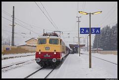 AKE E10 1309, St. Johann im Pongau 03-02-2018 (Henk Zwoferink) Tags: alpenexpress stjohannimpongau henkzwoferink ae railexperts bte bahntouristikexpress rxp smartrail ake e101309