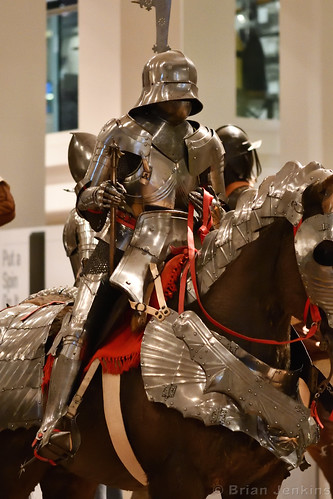 Armour For Man and Horse (Late 15th Century)