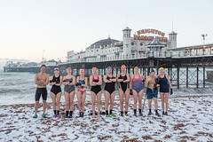 Brighton Swimming Club In The Snow February 1st 2019 7:37AM (lomokev) Tags: brightonswimmingclub brightonpier davesawyers davidsawyers snow swimmers brighton england unitedkingdom gb file:name=1902015dmrk3a2765 pier palacepier swim swimming sport canoneos5d canon eos 5d groupportrait