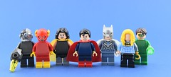 Dc minifigs #23 : The (incomplete) Crime Syndicate😕 (Alex THELEGOFAN) Tags: lego legography minifigure minifigures minifig minifigurine minifigs minifigurines super heroes dc comics crime syndicate blue league villain