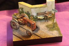 TRacteur Case - 1/35 - Thundermodel (CHRISTOPHE CHAMPAGNE) Tags: 2019 belgique exposition maquette roselie fele maquettisme tracteur case 135 thundermodel
